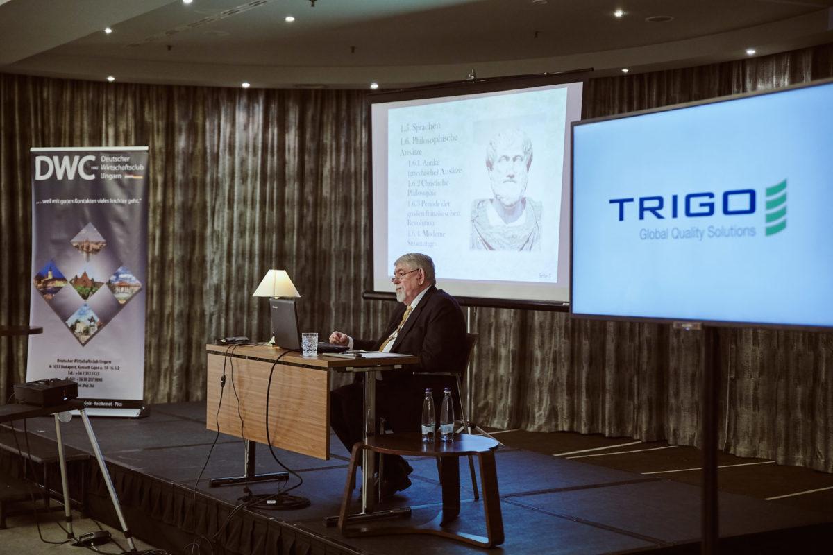 Vortrag von Minister Kásler