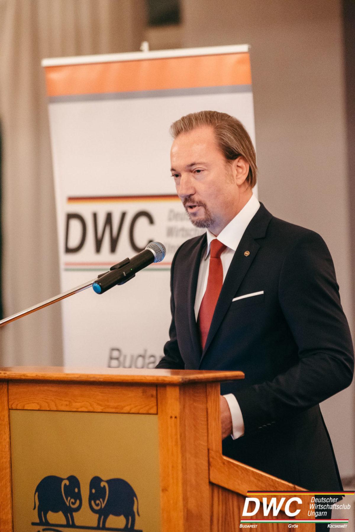 Vortrag von Dr. György Matolcsy