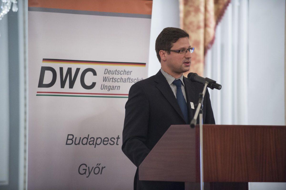Vortrag von Gergely Gulyás