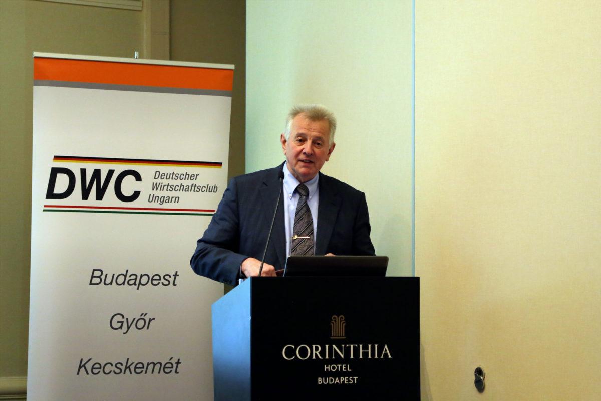 Vortrag von Pál Schmitt