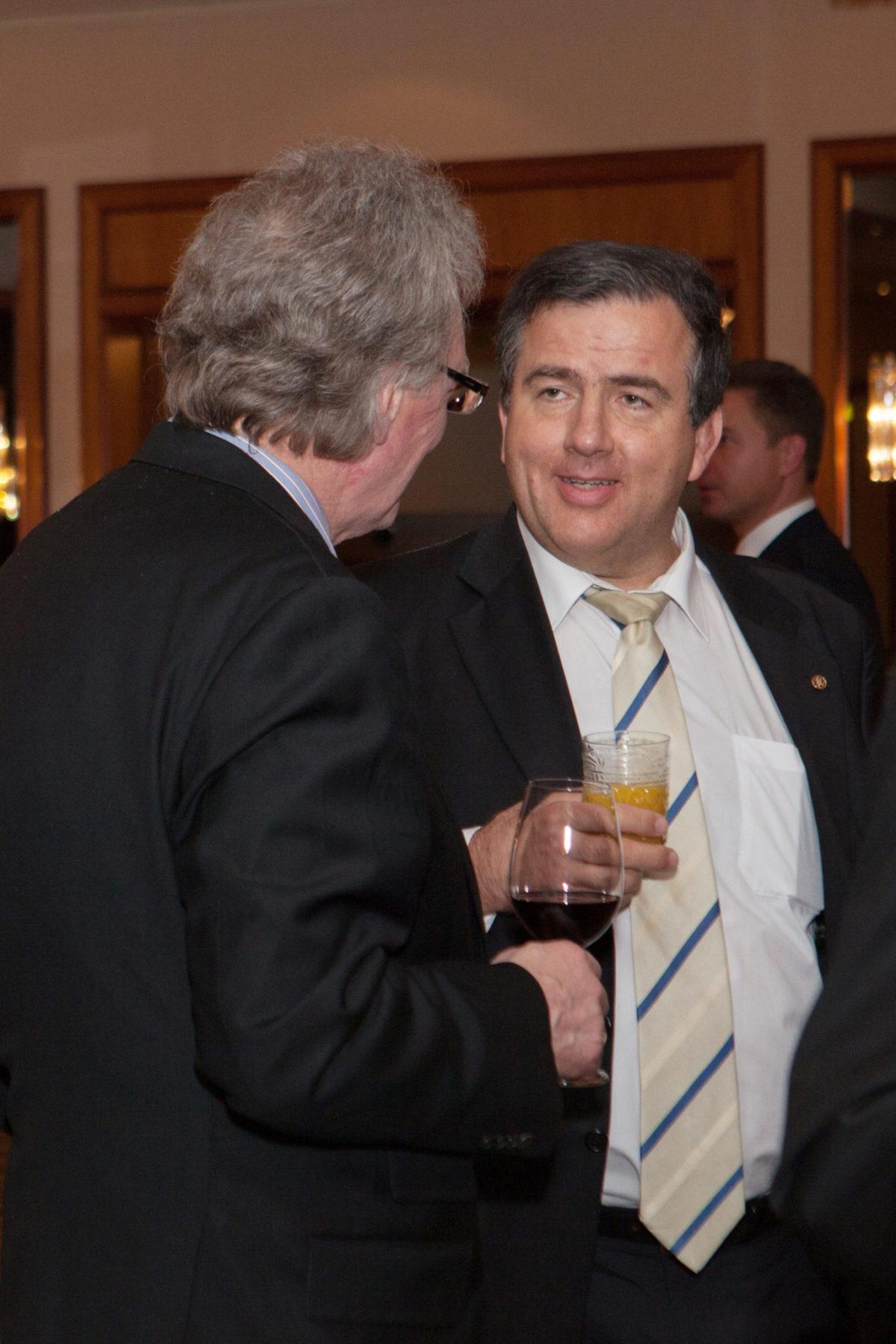 Aktuelle Wirtschaftsereignisse – Zoltán Cséfalvay und Árpád Kovács im Gespräch