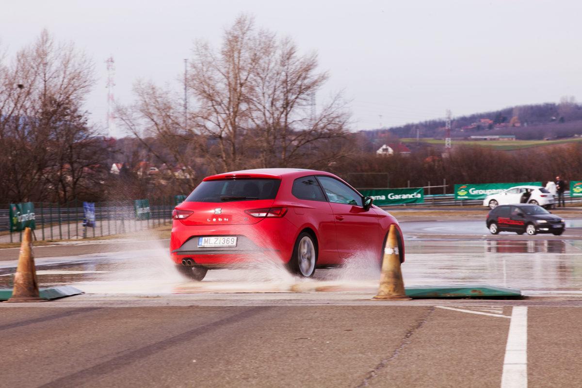Fahrertraining auf Hungaroring