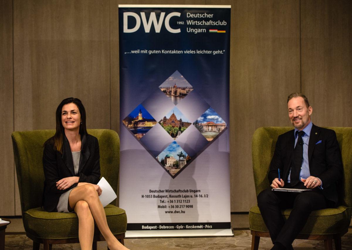 Podiumsdiskussion mit Dr. Judit Varga und Dr. Tamás Sulyok